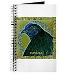 Framed Sumatra Rooster Journal