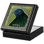 Framed Sumatra Rooster Keepsake Box