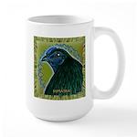 Framed Sumatra Rooster Large Mug