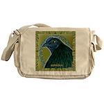 Framed Sumatra Rooster Messenger Bag