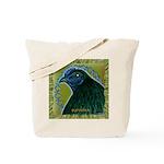 Framed Sumatra Rooster Tote Bag