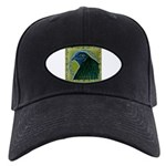 Framed Sumatra Rooster Black Cap