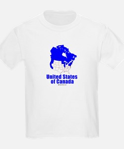 United States of Canada -  Kids T-Shirt