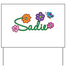 Sadie Flowers Yard Sign