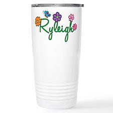 Ryleigh Flowers Travel Mug