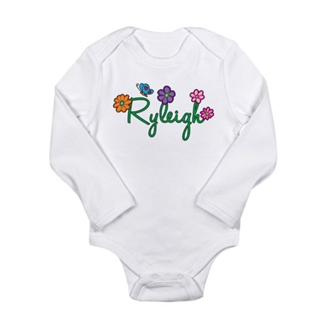 Ryleigh Flowers Long Sleeve Infant Bodysuit