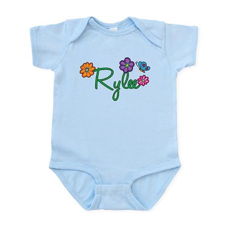 Rylee Flowers Infant Bodysuit