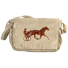 Brown Pacer Silhouette Messenger Bag