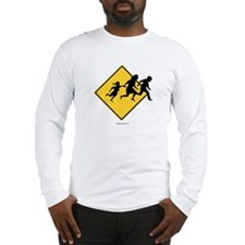 Caution: Illegal Immigrant Crossing - Long Sleeve