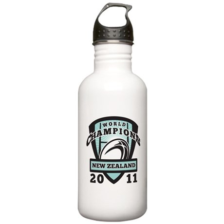 Rugby Champions New Zealand Stainless Water Bottle