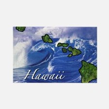 Cute Hawaii Rectangle Magnet (10 pack)