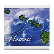 Cute Hawaii Tile Coaster