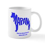 MaPaw Husky-blue Mug