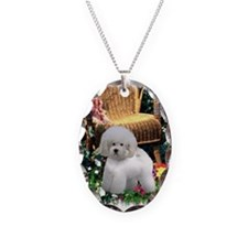 Bichon Frise Art Necklace