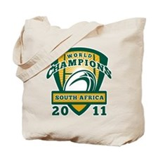 Rugby Champions south africa Tote Bag