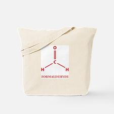 Formaldehyde Molecule Tote Bag