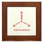 Formaldehyde Molecule Framed Tile