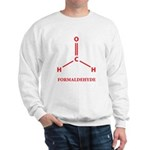 Formaldehyde Molecule Sweatshirt