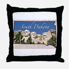 Cute State Throw Pillow
