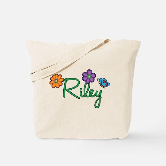 Riley Flowers Tote Bag