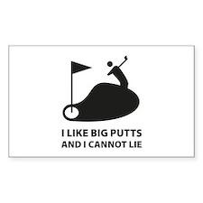 I like big putts Decal