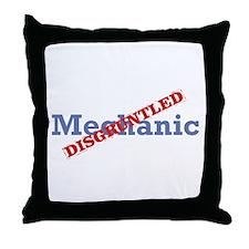 Mechanic / Disgruntled Throw Pillow
