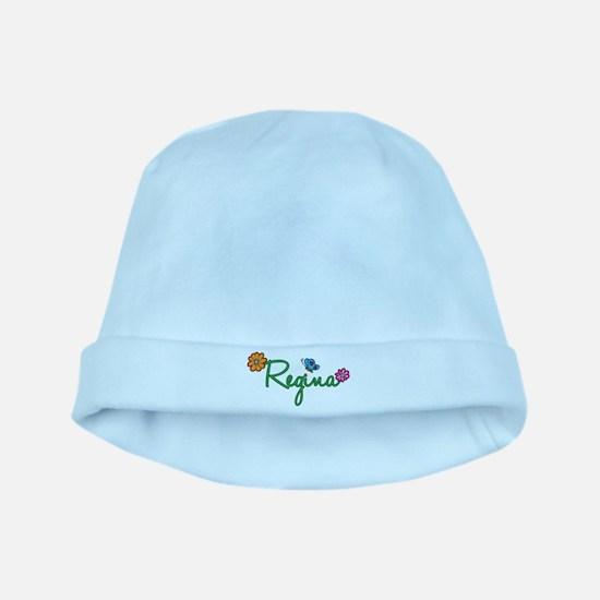 Regina Flowers baby hat