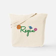Regan Flowers Tote Bag