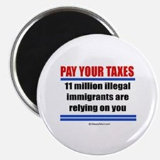 Pay your taxes - Magnet