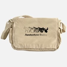 Racing Silhouette Messenger Bag