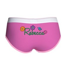 Rebecca Flowers Women's Boy Brief