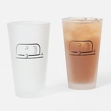 Airstream Silhouette Drinking Glass