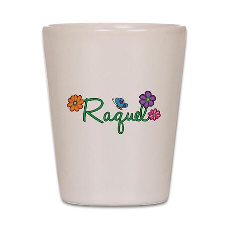 Raquel Flowers Shot Glass