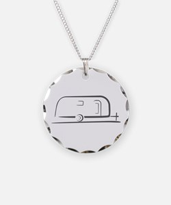 Airstream Silhouette Necklace