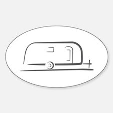 Airstream Silhouette Bumper Stickers