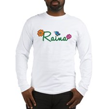 Raina Flowers Long Sleeve T-Shirt