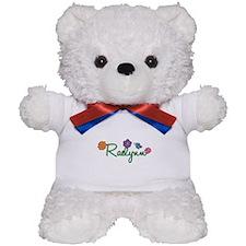 Raelynn Flowers Teddy Bear