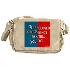 Open Mind Messenger Bag