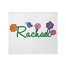 Rachael Flowers Throw Blanket