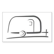 Airstream Silhouette Decal