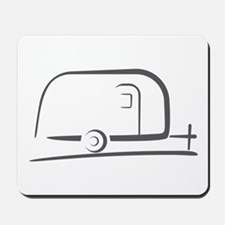 Airstream Silhouette Mousepad