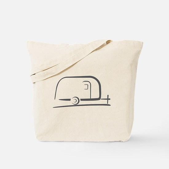 Airstream Silhouette Tote Bag