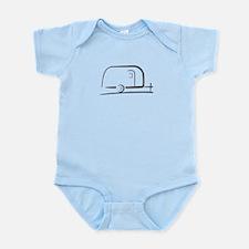Airstream Silhouette Infant Bodysuit