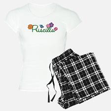 Priscilla Flowers pajamas