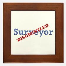 Surveyor / Disgruntled Framed Tile