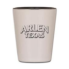 Arlen Texas Shot Glass