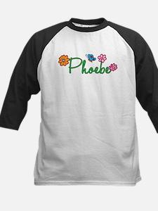 Phoebe Flowers Kids Baseball Jersey