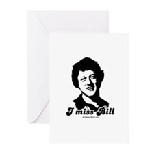 I miss Bill - Greeting Cards (Pk of 10)