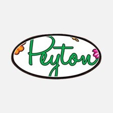 Peyton Flowers Patches
