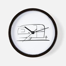 Airstream Silhouette Wall Clock
